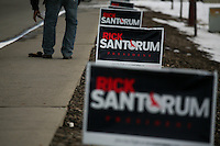 Santorum in Spokane, Washington