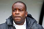 Nederland, Nijmegen, 3 februari 2013.Eredivisie .Seizoen 2012-2013.N.E.C.-Vitesse.Stanley Menzo, assistent-trainer van Vitesse en vervanger van de 'zieke' Fred Rutten.