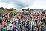 Kerry minors got a great reception when the arrived home to Killarney on Monday evening