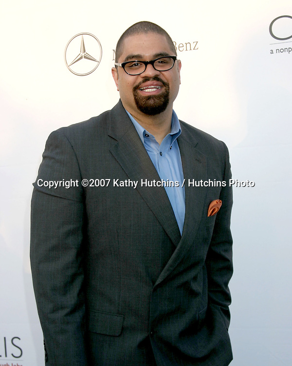 Heavy D.6th Annual Chrysalis Butterfly Ball.Private Home of Susan Harris & Hayward Kaiser.Brentwood, CA.June 2, 2007.©2007 Kathy Hutchins / Hutchins Photo....