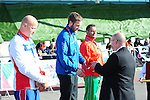 IPC European Athletics Championship 2014<br /> Swansea University<br /> <br /> Medal ceremony: Men's javelin throw F42<br /> <br /> 20.08.14<br /> Chris Vaughan-SPORTINGWALES