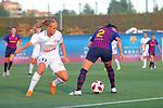 FC Barcelona vs Montpellier HSC: 1-2.<br /> Gemma Gili vs Janice Cayman.