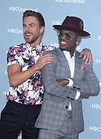 NEW YORK, NY - MAY 14: Derek Hough and Ne-Yo at the 2018 NBCUniversal Upfront at Rockefeller Center in New York City on May 14, 2018.  <br /> CAP/MPI/RW<br /> &copy;RW/MPI/Capital Pictures