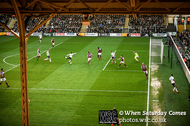 Fulham 2 Aston Villa 0, 17/02/2018. Craven Cottage, Championship. Photo by Simon Gill.