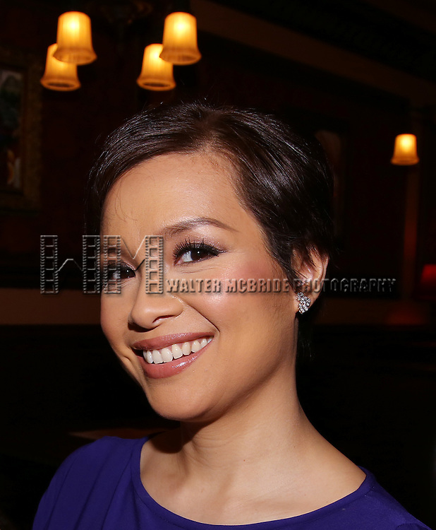 Lea Salonga during the Feinsteins/54 Below Press Preview at Feinsteins/54 Below on April 7, 2016 in New York City.