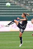 Camille Abily #20 of the Los Angeles Sol looks to stop a loose ball against St. Louis Athletica during their WPS game at Home Depot Center on May 30, 2009 in Carson, California. LA Sol defeated  St. Louis Athletic 2-0.