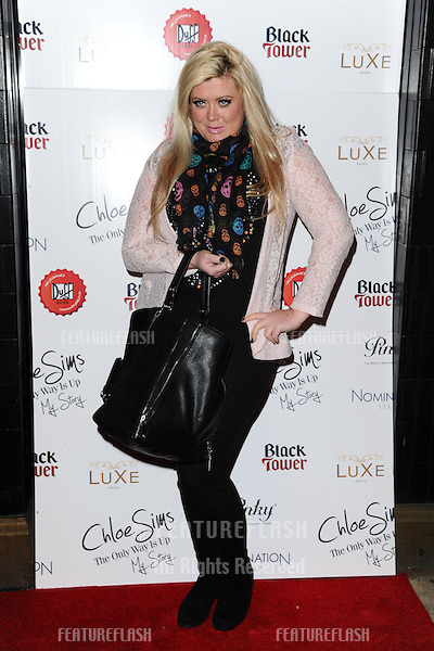 Gemma Collins arriving for the launch of Chloe Sims' book at Luxe nightclub, Essex. 13/11/2012 Picture by: Alexandra Glen / Featureflash