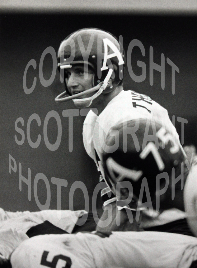 Joe Theismann Toronto Argonauts. Photo Ted Grant