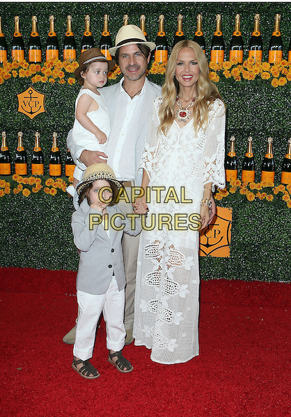 17 October 2015 - Pacific Palisades, California - Rachel Zoe, Skyler Morrison Berman, Rodger Berman, Kaius Jagger Berman. Sixth-Annual Veuve Clicquot Polo Classic, Los Angeles held at Will Rogers State Historic Park. <br /> CAP/ADM/FS<br /> &copy;FS/ADM/Capital Pictures