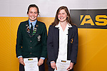 Girls Orienteering finalists Anna Gray & Kateryna Smirnova. ASB College Sport Auckland Secondary School Young Sports Person of the Year Awards held at Eden Park on Thursday 12th of September 2009.