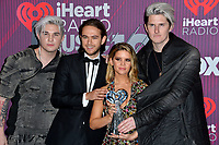 LOS ANGELES, CA. March 14, 2019: Grey, Michael Trewartha, Zedd, Maren Morris &amp; Kyle Trewartha at the 2019 iHeartRadio Music Awards at the Microsoft Theatre.<br /> Picture: Paul Smith/Featureflash