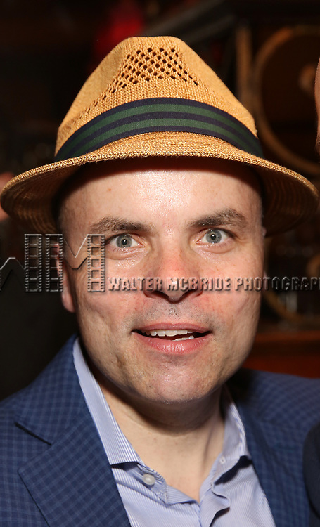 J.T. Rogers attends the 2017 New York Drama Critics' Circle Awards Reception at Feinstein's / 54 Below on 5/18/2017 in New York City.