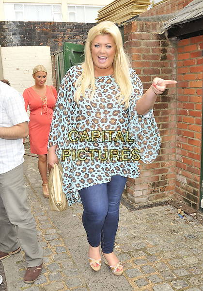 ESSEX, ENGLAND - JUNE 28: Gemma Collins attends the Minnie's Boutique Marie Curie Tea Party, Minnie's Boutique, Ropers Yard., on Saturday June 28, 2014 in Essex, England, UK.<br /> CAP/CAN<br /> &copy;Can Nguyen/Capital Pictures