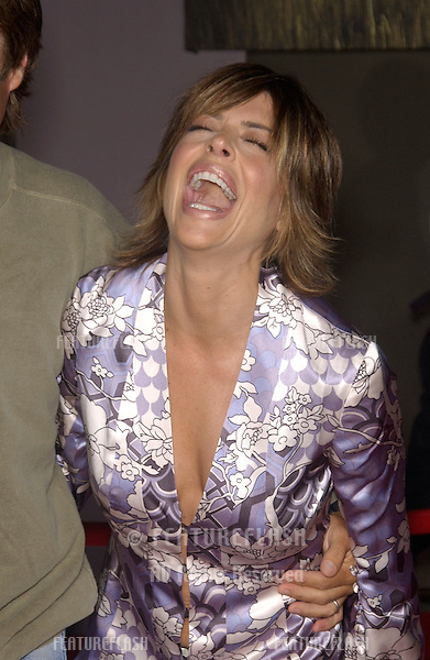 Actress LISA RINNA at the world premiere, in Hollywood, of Cold Creek Manor..Sept 17, 2003