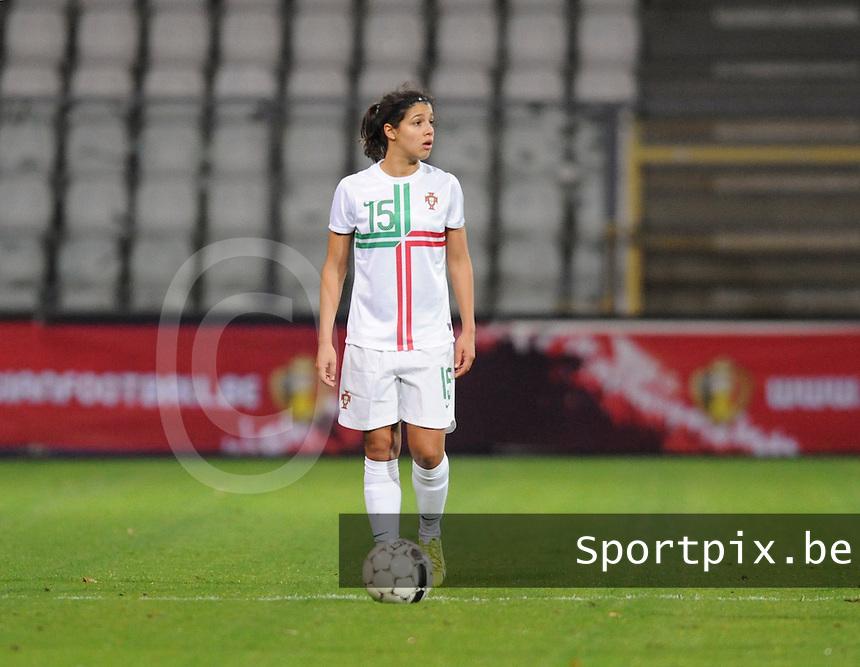 Belgian Red Flames - Portugal (31/10/2013) :<br /> Carole Costa<br /> foto Dirk Vuylsteke / Nikonpro.be