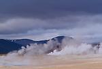 Geothermal steam vents, Iceland