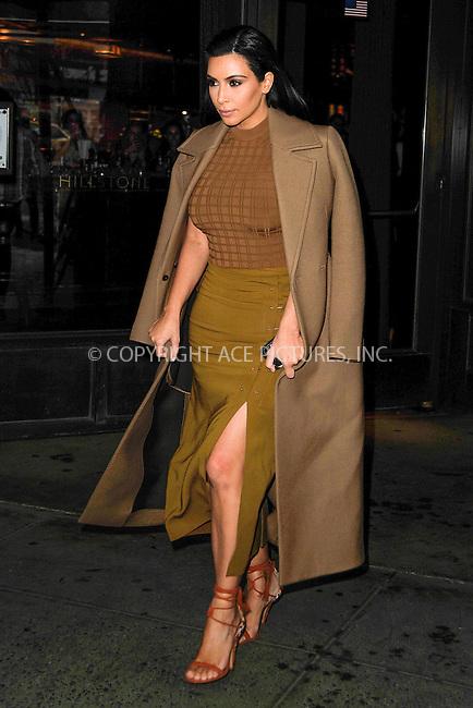 WWW.ACEPIXS.COM<br /> <br /> April 22 2015, New York City<br /> <br /> Kim Kardashian was out in Manhattan on April 22 2015 in New York City<br /> <br /> By Line: Curtis Means/ACE Pictures<br /> <br /> <br /> ACE Pictures, Inc.<br /> tel: 646 769 0430<br /> Email: info@acepixs.com<br /> www.acepixs.com