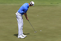 Jordan Niebrugge (USA) putts on the 5th green during Saturday's Round 3 of the 117th U.S. Open Championship 2017 held at Erin Hills, Erin, Wisconsin, USA. 17th June 2017.<br /> Picture: Eoin Clarke | Golffile<br /> <br /> <br /> All photos usage must carry mandatory copyright credit (&copy; Golffile | Eoin Clarke)