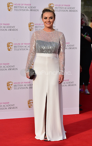 LONDON, ENGLAND - MAY 08: Chanel Cresswell at he British Academy (BAFTA) Television Awards 2016, Royal Festival Hall, Belvedere Road, London, England, UK, on Sunday 08 May 2016.<br /> CAP/JOR<br /> &copy;JOR/Capital Pictures /MediaPunch ***NORTH AMERICA AND SOUTH AMERICA ONLY***