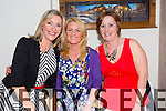 Noreen Ferris, Claire Healy O Halloran and Laura O'Sullivan from Ardfert and Ballyheigue having a girls night out at Bella Bia's on Saturday