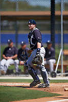 New York Yankees Audie Afenir (74) during a minor league Spring Training game against the Toronto Blue Jays on March 22, 2016 at Englebert Complex in Dunedin, Florida.  (Mike Janes/Four Seam Images)