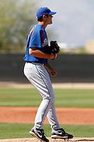 Richard Bleier - Texas Rangers - 2009 spring training.Photo by:  Bill Mitchell/Four Seam Images