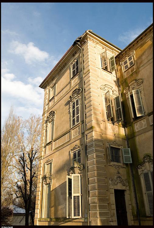 Il Castello Cavour di Santena, residenza del Conte Camillo di Cavour.