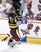 Adam Ross (Merrimack - 26), Matt Price (BC - 25) - The Boston College Eagles defeated the Merrimack College Warriors 7-0 on Tuesday, February 23, 2010 at Conte Forum in Chestnut Hill, Massachusetts.