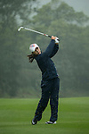 Ji Young Park of South Korea plays a second shot at the 12th hole during Round 3 of the World Ladies Championship 2016 on 12 March 2016 at Mission Hills Olazabal Golf Course in Dongguan, China. Photo by Victor Fraile / Power Sport Images