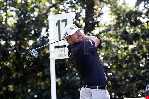 22.09.2016. Atlanta, Georgia, USA. Ryan Moore at  the opening round of the 2016 PGA Tour Championship at East Lake Golf Club in Atlanta, Georgia.