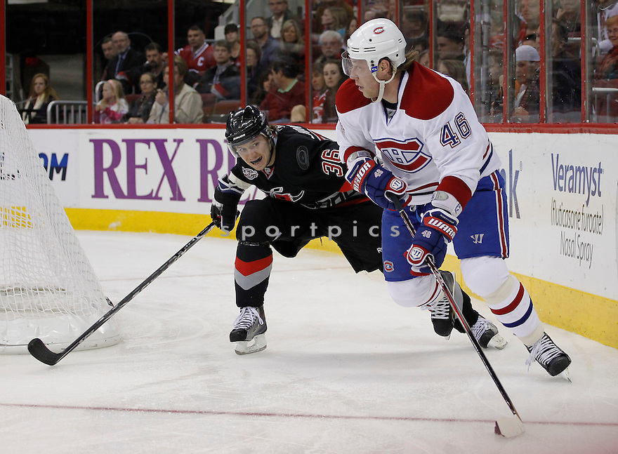 ANDREI KOSTITSYN of the Montreal Canadiens..