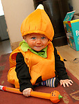 Alan Lynch at his first Halloween...Photo NEWSFILE/Jenny Matthews.(Photo credit should read Jenny Matthews/NEWSFILE)....This Picture has been sent you under the condtions enclosed by:.Newsfile Ltd..The Studio,.Millmount Abbey,.Drogheda,.Co Meath..Ireland..Tel: +353(0)41-9871240.Fax: +353(0)41-9871260.GSM: +353(0)86-2500958.email: pictures@newsfile.ie.www.newsfile.ie.FTP: 193.120.102.198.