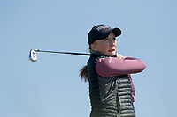 Gemma Batty (Scotland) during the second round of the Irish Womans Open Strokeplay Championship, Co Louth Golf Club, Baltray, Drogheda, Co Louth, Ireland. 12/05/2018.<br /> Picture: Golffile | Fran Caffrey<br /> <br /> <br /> All photo usage must carry mandatory copyright credit (&copy; Golffile | Fran Caffrey)