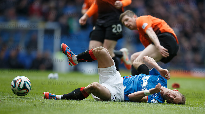 Mark Wilson takes out Dean Shiels