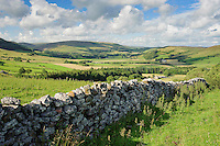 A view of the Hodder Valley, Forest of Bowland, Lancashire.