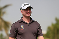 Richard McEvoy (ENG) on the 4th tee during Round 1 of the Omega Dubai Desert Classic, Emirates Golf Club, Dubai,  United Arab Emirates. 24/01/2019<br /> Picture: Golffile | Thos Caffrey<br /> <br /> <br /> All photo usage must carry mandatory copyright credit (&copy; Golffile | Thos Caffrey)