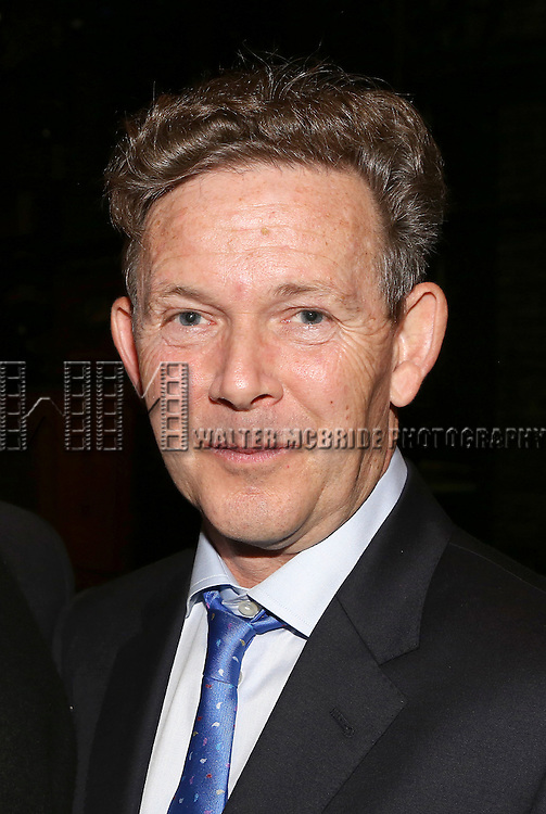 John Logan during the Broadway Opening Night Gypsy Robe Ceremony Celebrating Jeremy Davis for 'The Last Ship' at the Neil Simon Theatre on October 26, 2014 in New York City.