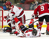 Max Everson (Harvard - 44), CJ Lee (RPI - 22), Matt Neal (RPI - 9) - The Harvard University Crimson defeated the visiting Rensselaer Polytechnic Institute Engineers 4-0 (EN) on Saturday, November 10, 2012, at Bright Hockey Center in Boston, Massachusetts.