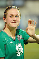 Heather O'Reilly (10) of Abby XI during the Women's Professional Soccer (WPS) All-Star Game at KSU Stadium in Kennesaw, GA, on June 30, 2010.