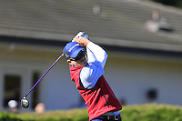 Kevin Streelman (USA) tees off the 1st tee at Pebble Beach Golf Links during Saturday's Round 3 of the 2017 AT&amp;T Pebble Beach Pro-Am held over 3 courses, Pebble Beach, Spyglass Hill and Monterey Penninsula Country Club, Monterey, California, USA. 11th February 2017.<br /> Picture: Eoin Clarke | Golffile<br /> <br /> <br /> All photos usage must carry mandatory copyright credit (&copy; Golffile | Eoin Clarke)