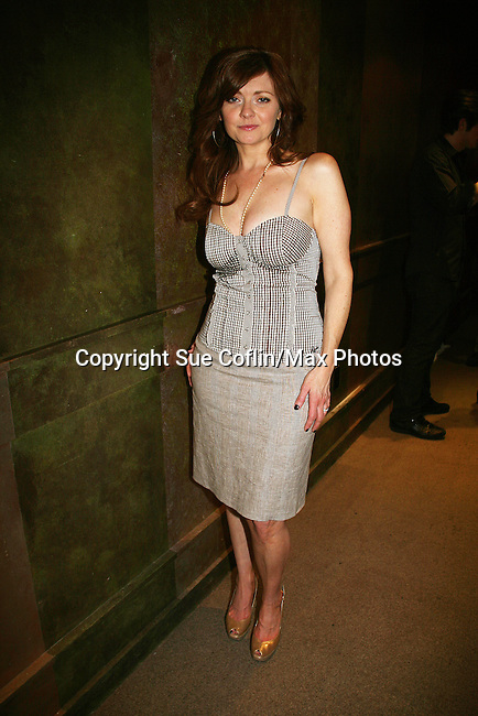 """As The World Turns' Annie Sayre """"Mitzi"""" at Trent Dawson's 6th Annual Martinis With Henry on April 17, 2010 at Latitude, New York City, New York. (Photo by Sue Coflin/Max Photos)"""