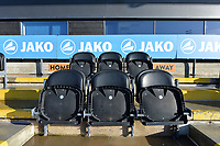 The Bench Barnets ground The Hive Stadium  during Barnet vs Stockport County, Emirates FA Cup Football at the Hive Stadium on 2nd December 2018