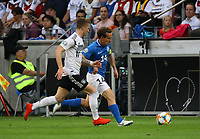 Konstantin Vassiljev (Estland, Estonia) gegen Marco Reus (Deutschland, Germany) - 11.06.2019: Deutschland vs. Estland, OPEL Arena Mainz, EM-Qualifikation DISCLAIMER: DFB regulations prohibit any use of photographs as image sequences and/or quasi-video.