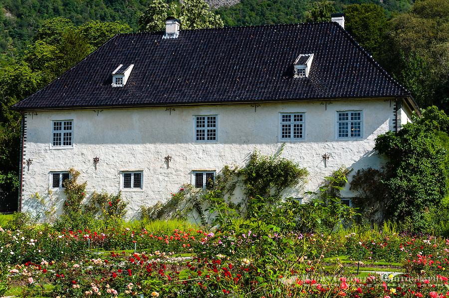 Norway, Rosendal. At the Barony Rosendal manor.
