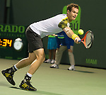 Andy Murray (GBR) defeats Richard Gasquet (FRA 6-7, 6-1, 6-2