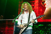 MEGADETH - vocalist and guitarist Dave Mustaine - performing live on the Killing Road Tour at the Academy Brixton in London UK - 06 Jun 2013.  Photo credit: John Rahim/Music Pics Ltd/IconicPix