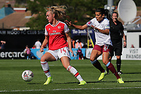 Jill Roord of Arsenal and Kenza Dali of West Ham during Arsenal Women vs West Ham United Women, Barclays FA Women's Super League Football at Meadow Park on 8th September 2019