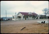 Santa Fe depot.<br /> D&amp;RGW  Santa Fe, NM