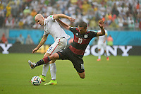 Recife, Brazil - Thursday June 26, 2014: The USMNT loses to Germany 1-0 in the group stage of the 2014 World Cup.