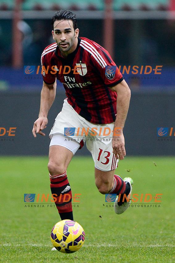 Adil Rami Milan<br /> Milano 15-02-2015 Stadio Giuseppe Meazza - Football Calcio Serie A Milan - Empoli. Foto Giuseppe Celeste / Insidefoto
